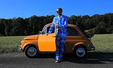 BLEK devant Fiat 500