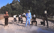 Groupe masques - vidéo Stephane BLEK